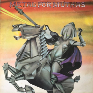 V/A - Metal For Muthas (LP) (VG+/G)